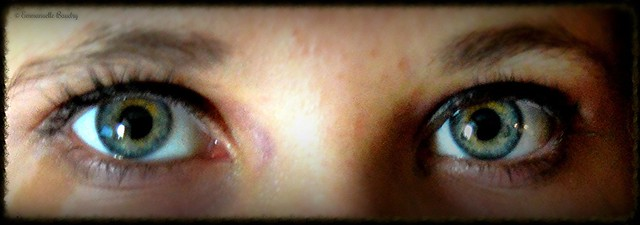 Lucie's eyes