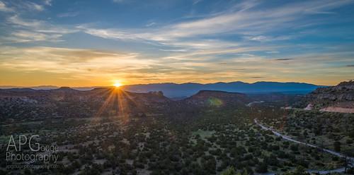 new sun sunrise mexico los nikon anderson nm overlook alamos d600 nikond600