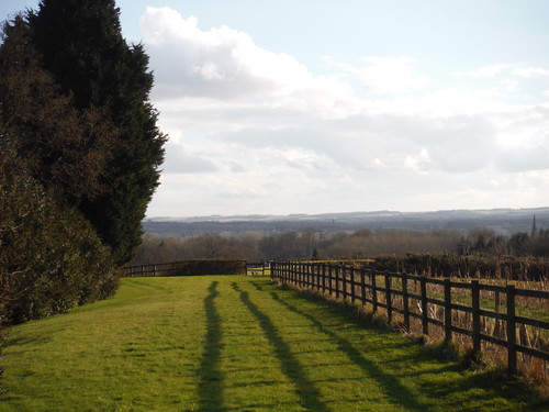 Kennet Valley and Hampshire Downs, from Wooten's SWC Walk 117 Aldermaston to Woolhampton (via Stanford Dingley)
