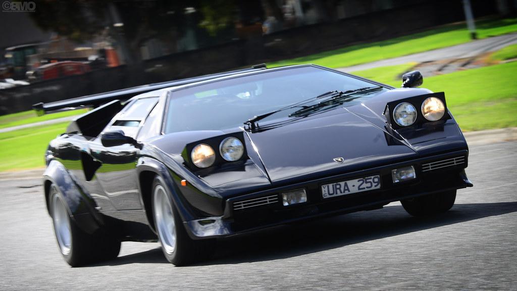 Lamborghini Countach 5000 Qv Quattrovalvole Custom Cars Flickr