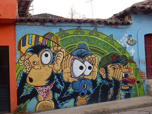 San Cristobal - horen zien en zwijgen