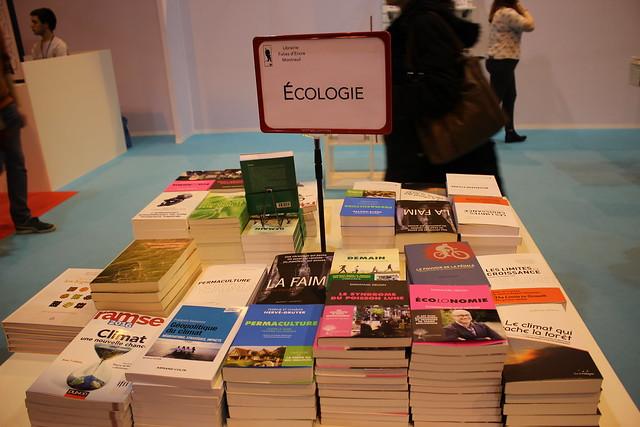 Livres écologie - Livre Paris 2016