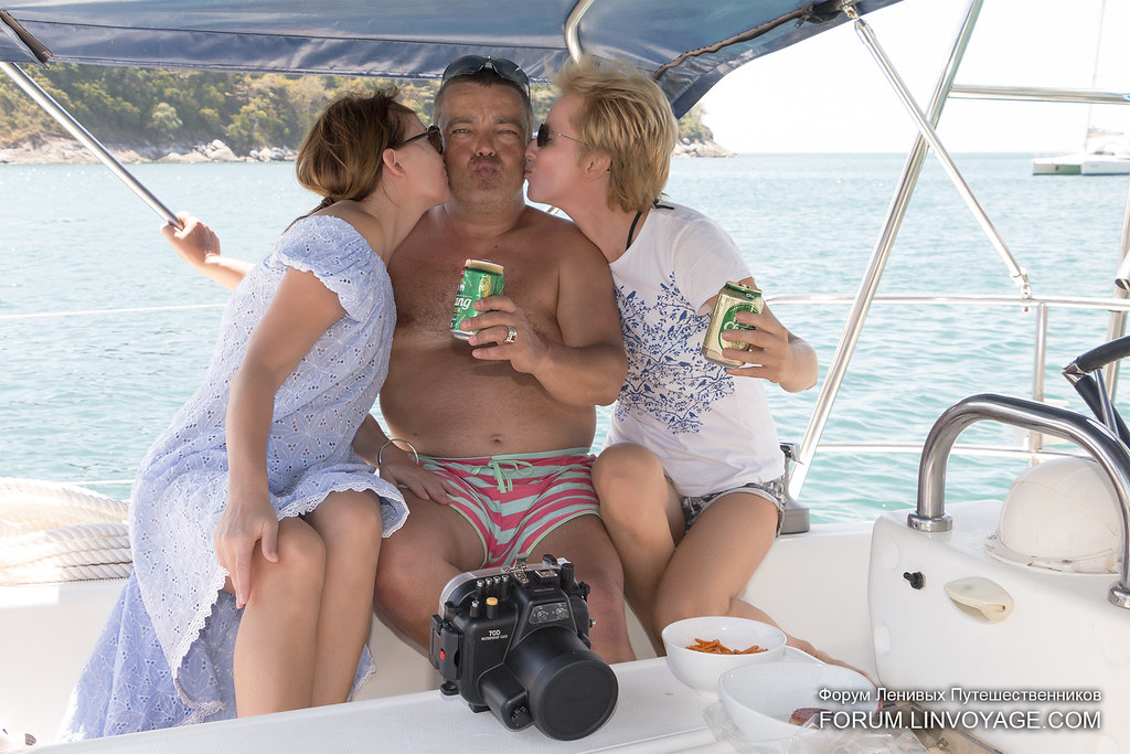 Hospitality on our yacht - we love our guests!              IMG_1538bs