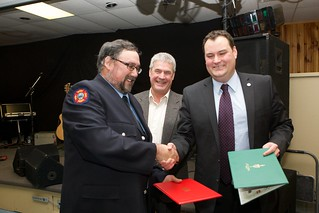Ralph Cummings, 30 years of service | by digby fire dept
