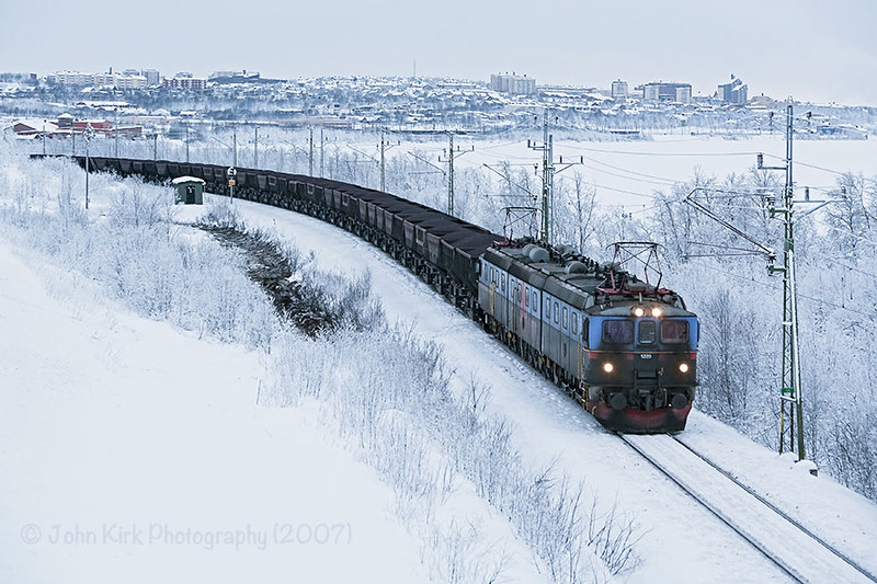 Arctic Iron Ore in winter by Beyond Trains