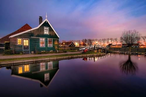 longexposure travel houses sunset holland countryside day outdoor windmills filter nd slowshutter zaanseschans zaandam ndfilter nikond5300