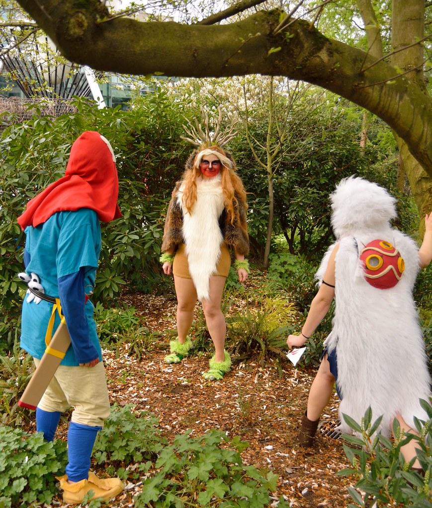 Princess Mononoke Ashitaka Forest Spirit San Dsc 069 Flickr