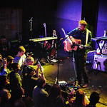 Wed, 30/03/2016 - 6:55pm - The Glasgow-based Frightened Rabbit (Scott Hutchison, Grant Hutchison, Billy Kennedy, Andy Monaghan, and Simon Liddell) perform for WFUV Members at Rough Trade NYC in Brooklyn, 3/29/16. Photos by Gus Philippas/WFUV