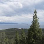 Yellowstone Lake from Elephant Back Trail