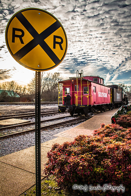 Collierville Heritage Railroad Display