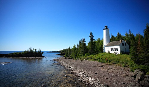 Rock_Harbor_Lighthouse_at_Isle_Royale_National_park   by midwestnps