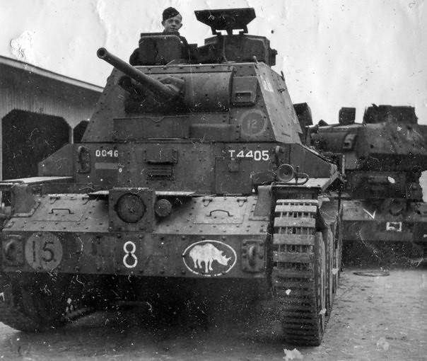 캡처 된 크루저 탱크 Mk.III