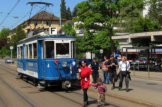 Tram Museum Zürich Forchbahn CFe 2/2 4