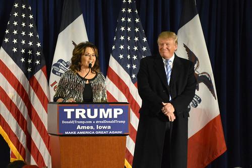 Trump and Palin at ISU - 1/19/2016   by aj.hanson1