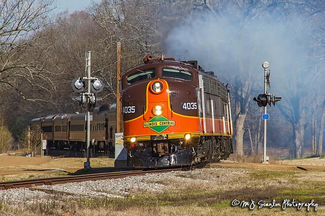 IC 4035 | EMD E8 | Grenada Railway