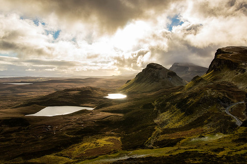 View from Quiraing, Skye | by Manadh