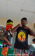 Thanlyin Boys circus many hats
