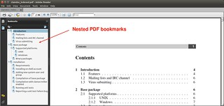 PDF File with Nested Bookmarks | by xmodulo
