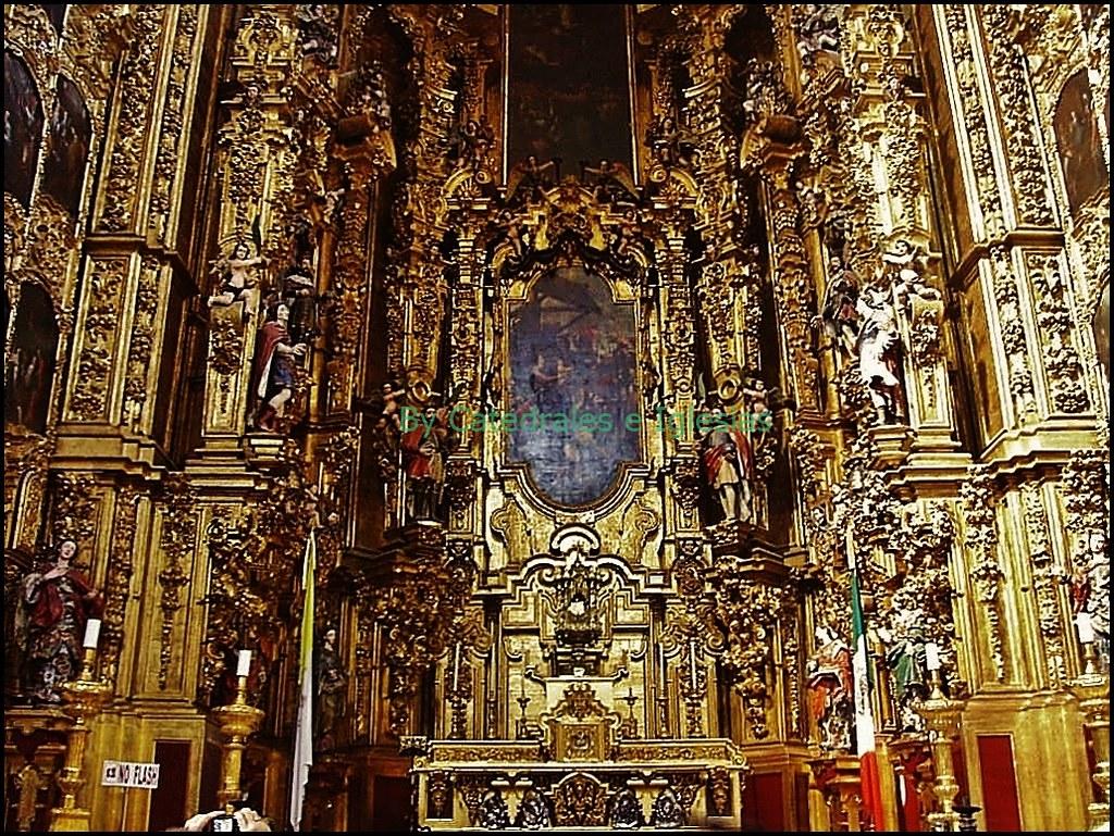 Altar De Los Reyes Catedral Metropolitana De La Ciudad De Flickr