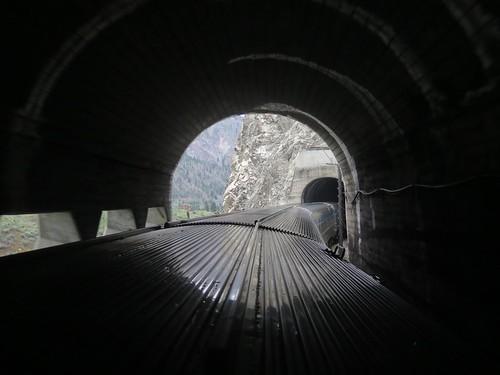 dome domecar passengertrain thompsoncanyon tunnel viarail viarailcanadian