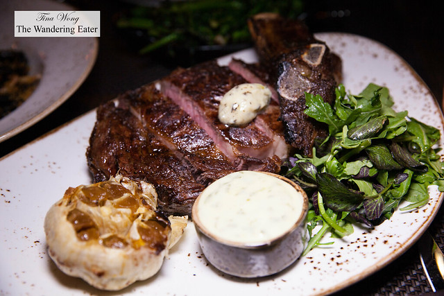 Piedmont grass-fed rib eye for two