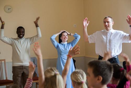 05.stretnutie v škôlke - sr. Anna a spolubratia SVD