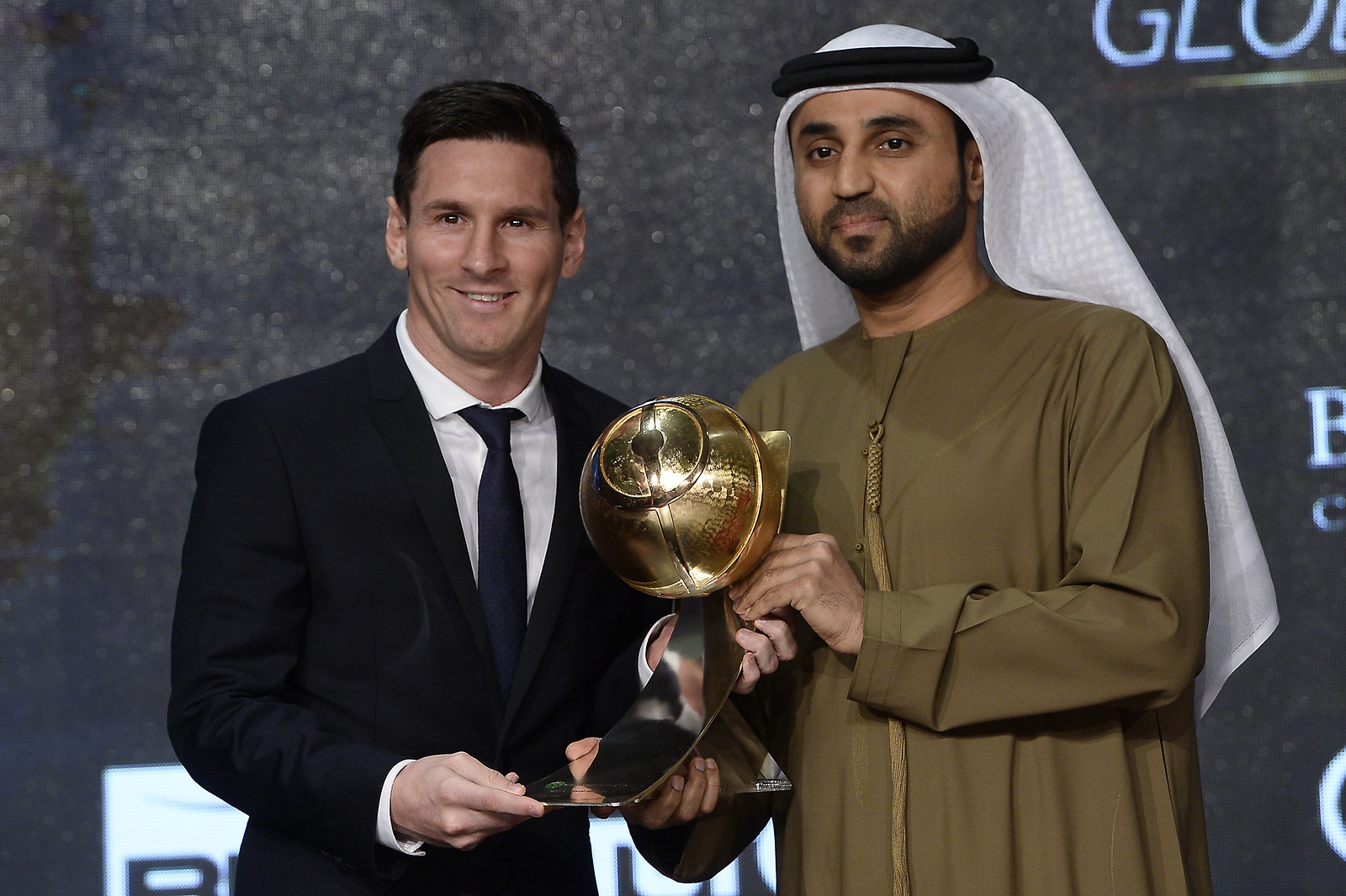"""""""Globe Soccer Award 2015"""""""