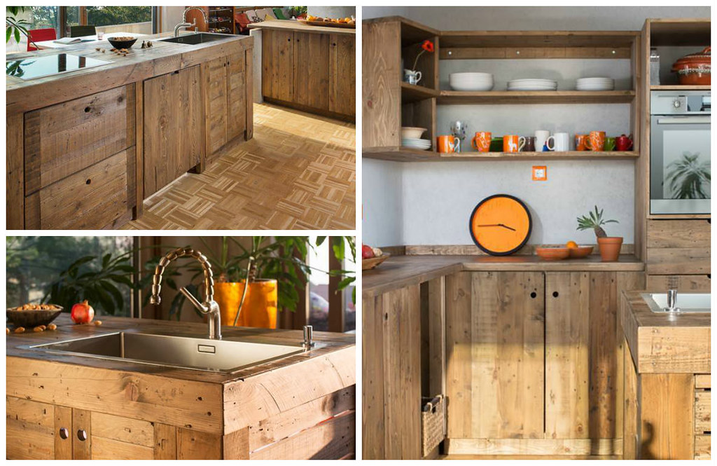 Entire Modern Kitchen Made Out Of Pallets Www 1001pallets Flickr
