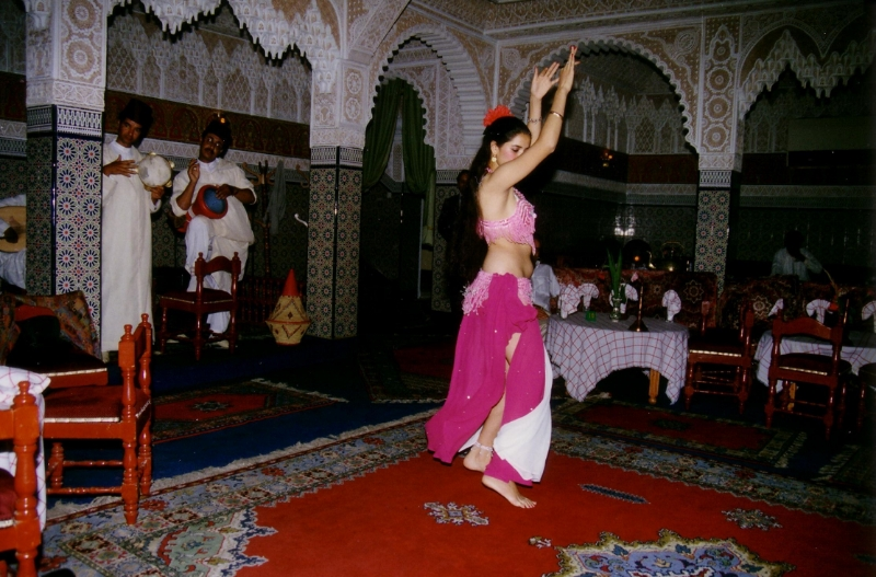 Marrocan Dancing Girl