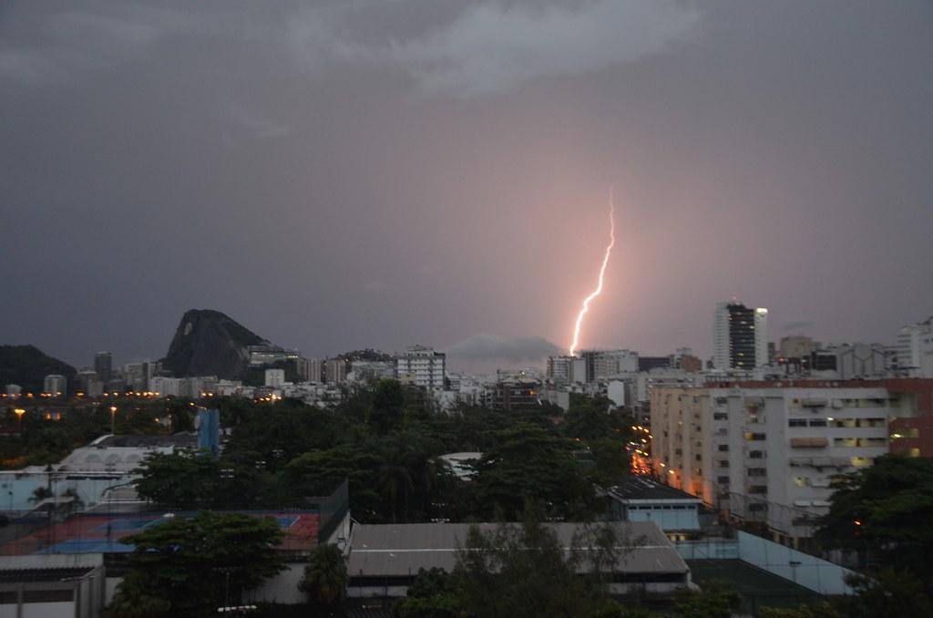 Raio no Rio de Janeiro