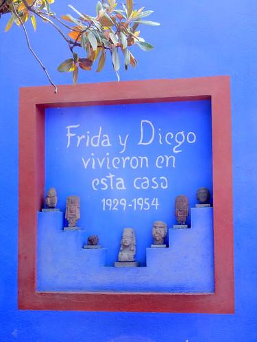 Ciudad Mexico - Frida Kahlo museum - 3
