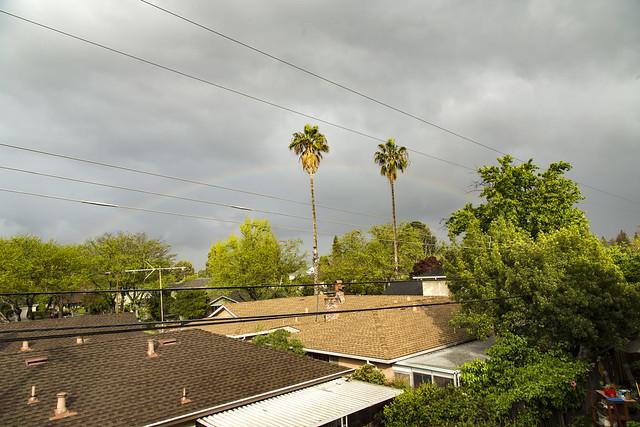 81/2016 - Rainbow in Redwood City