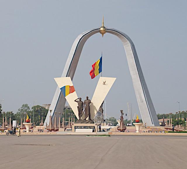 001 - National Monument in N'Djamena, Tibesti, Chad 2014