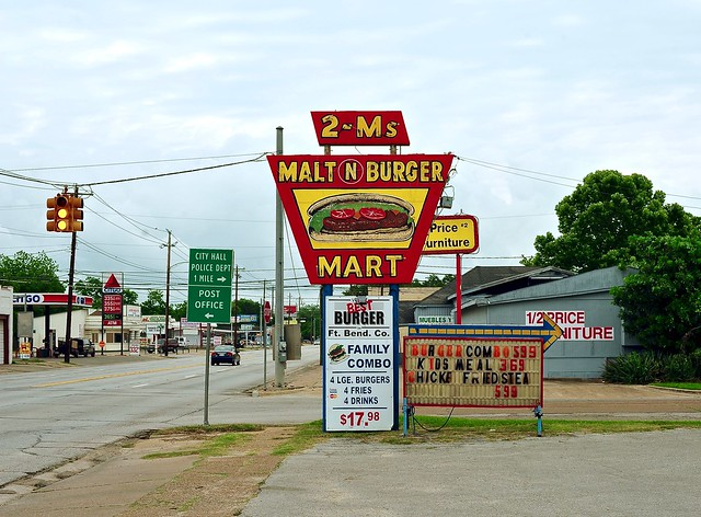 2 - Ms Malt N Burger Mart - Rosenberg,Texas