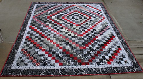 My Red, White and Black Scrappy Trip Finished :)