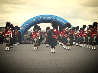 The Band of the Royal Regiment of Scotland
