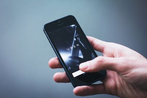 Uber app | by freestocks.org