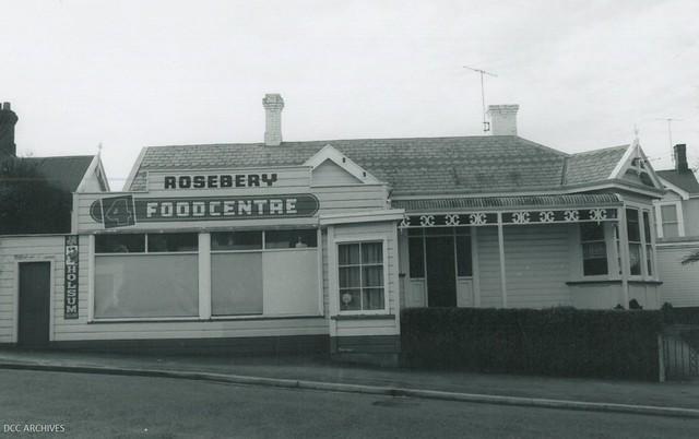 Rosebery Food Centre, Rosebery Street c1970s
