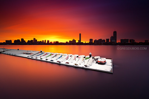 city longexposure morning winter cambridge sky urban usa snow seascape cold reflection water silhouette boston skyline clouds sunrise canon river boats photography dawn early photo colorful downtown sailing cityscape photographer unitedstates cloudy photos snowy massachusetts charlesriver smooth newengland surreal wideangle stormy wallart posters prints waterblur sailboats northeast backbay hancocktower eastcoast memorialdrive overturned bostonskyline waterscape 6d boatdock stockphotography johnhancocktower prudentialtower northatlantic sailingcenter skylinesilhouette mitsailingpavilion leefilters bostonsunrise bigstopper gregdubois