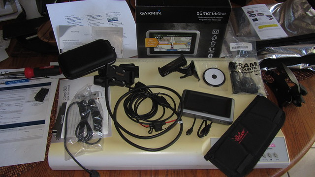 IMG_5921 garmin zumo 660LM kit