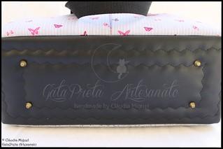 "Conjunto de maternidade ""Cute Pinky Butterflies"" | by GataPreta Artesanato"