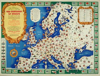 Map Of Europe 1946 Description The National Savings Pic Flickr