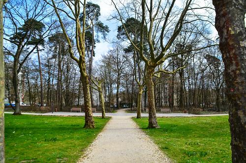 Gehweg Heegwaldpark