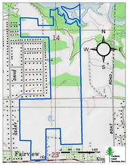 Baggett Land Sale Map Topo
