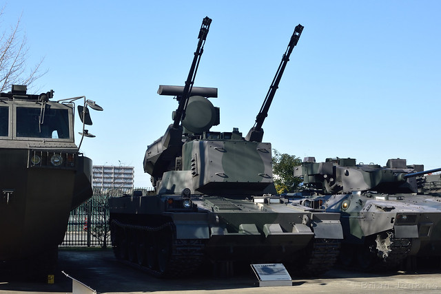 Type 87 Self-Propelled Anti-Aircraft Gun