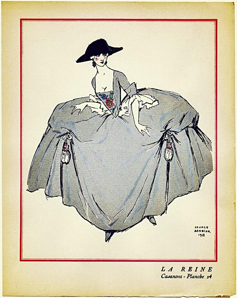 La Reine [The Queen], from Casanova, 1918 // décors & cost… | Flickr