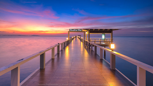 ocean travel bridge blue sunset sea summer wallpaper vacation sky orange sun holiday reflection tourism beach nature water beautiful yellow clouds sunrise relax landscape thailand island coast pier sand paradise waves background relaxing scenic resort tropical romantic rest relaxation th changwatchonburi tambonsaensuk