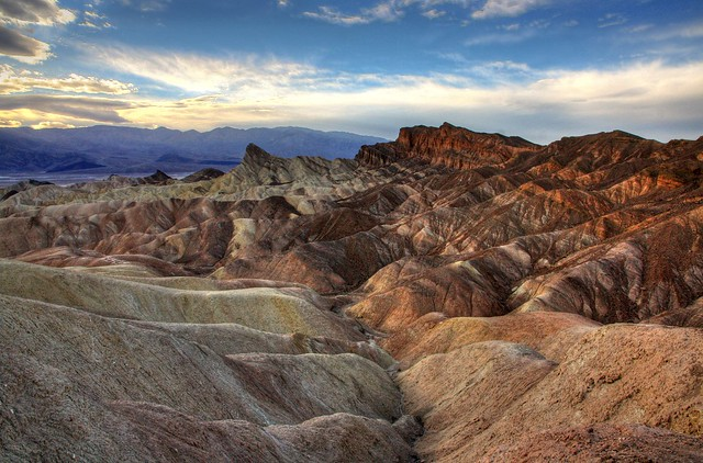 Death Valley - Zabriskle Point