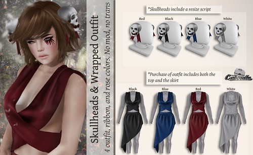 Caboodle - Skullheads & Wrapped Outfit @Mainstore | by Twerk Caboodle
