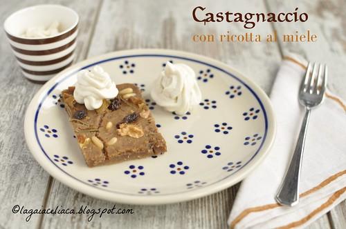 Castagnaccio naturalmente senza glutine con ricotta al miele | by mammadaia